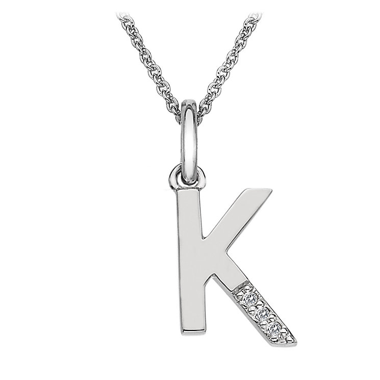 Hot Diamonds Sterling Silver Pendant - Product number 1458027