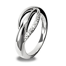 Hot Diamonds Sterling Silver Ring Size N - Product number 1459414