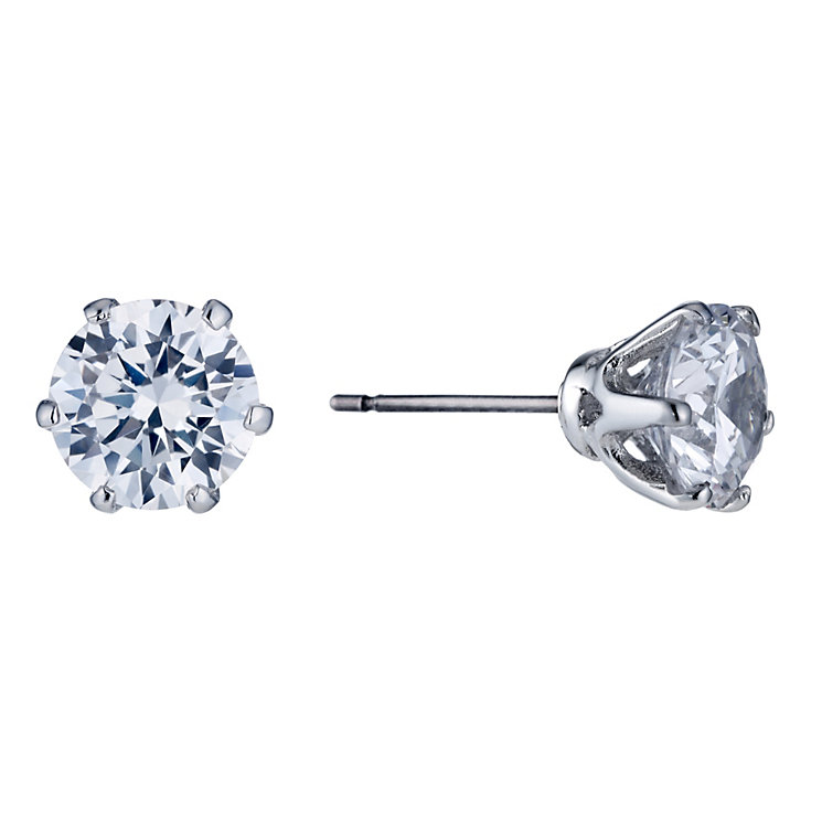 Buckley London Cubic Zirconia Large Stud Earrings - Product number 1459449