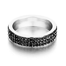 Shimla Black Crystal Ring - Product number 1465449