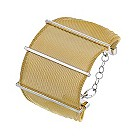 Amanda Wakeley sterling silver gold tone mesh bracelet - Product number 1470256
