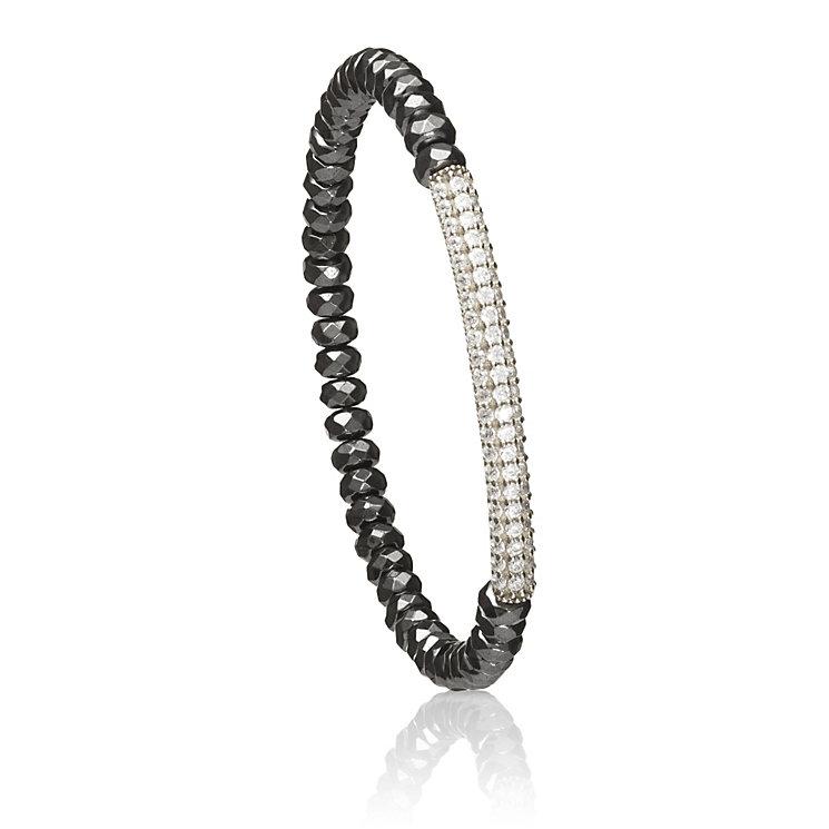 Gaia Silver Hematite Bracelet - Product number 1470671