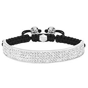 Tresor Paris 10mm stainless steel crystal half bracelet - Product number 1474022
