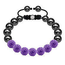 Tresor Paris purple crystal bracelet - Product number 1474065