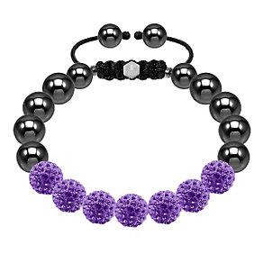 Tresor Paris purple crystal bracelet - Product number 1474065