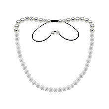 Tresor Paris stainless steel white crystal necklace - Product number 1474189