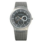 Skagen Aktiv men's titanium black mesh bracelet watch - Product number 1476440