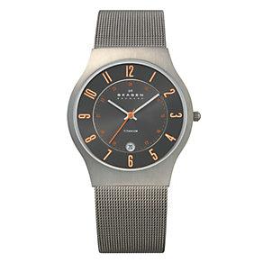 Skagen Klassik ladies' titanium mesh bracelet watch - Product number 1476513