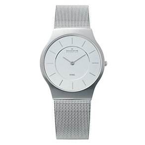 Skagen Klassik ladies' stainless steel mesh bracelet watch - Product number 1476564