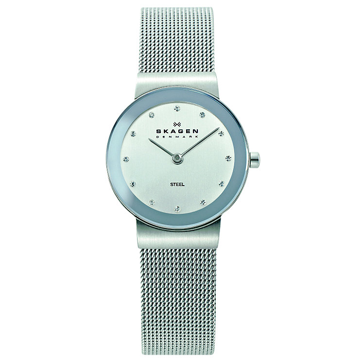 Skagen Freja Ladies' Stainless Steel Mesh Bracelet Watch - Product number 1476742