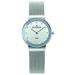 Skagen Klassik ladies' stainless steel mesh bracelet watch - Product number 1476742