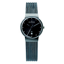 Skagen Ancher Ladies' Stainless Steel Mesh Bracelet Watch - Product number 1476858