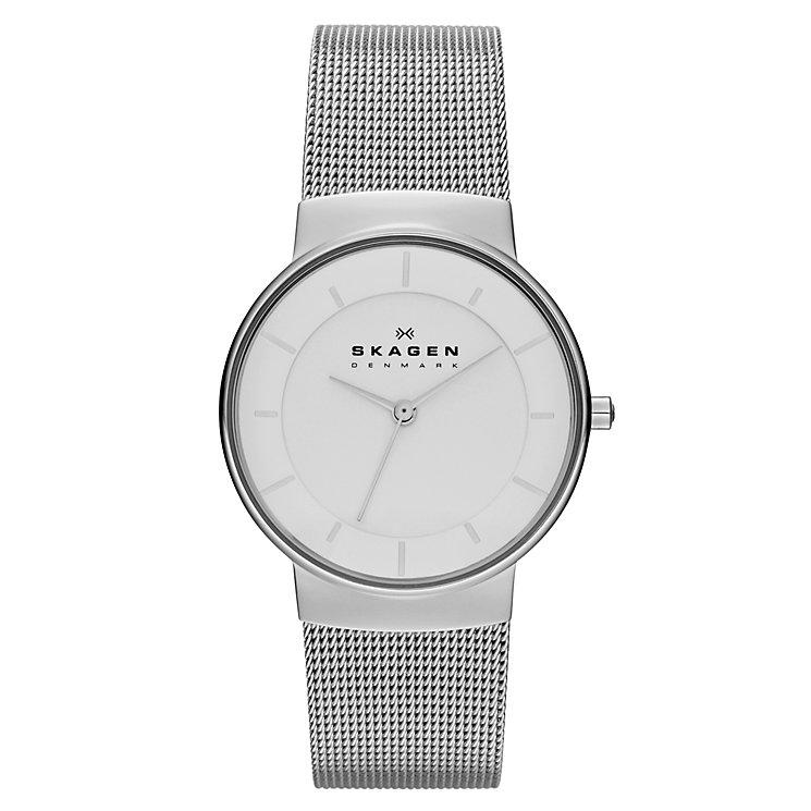 Skagen Klassik Ladies' Stainless Steel Mesh Bracelet Watch - Product number 1476939