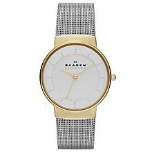 Skagen Nicoline Ladies' Two Colour Mesh Bracelet Watch - Product number 1476947