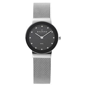 Skagen Klassik ladies' stainless steel mesh bracelet watch - Product number 1476955