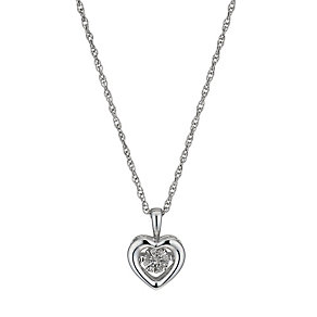 Diamonds in Rhythm Diamond Heart Pendant - Product number 1477560
