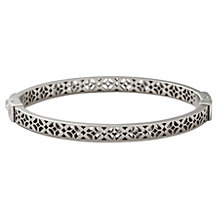 Fossil stainless steel cut out bangle - Product number 1478397