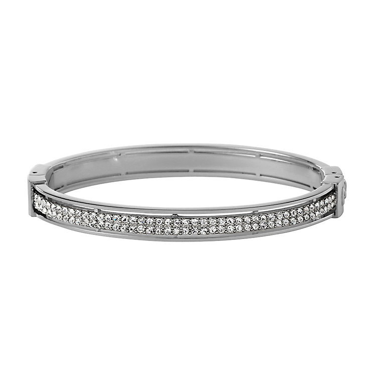 Fossil stainless steel stone set bangle - Product number 1478591
