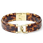 Fossil gold-plated tortoiseshell link bangle - Product number 1478834