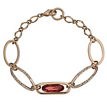 Radiance Gold-Plated Swarovski Pink Crystal Bracelet - Product number 1479016