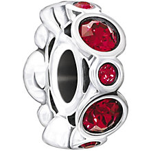 Chamilia sterling silver January birthstone bead - Product number 1479423