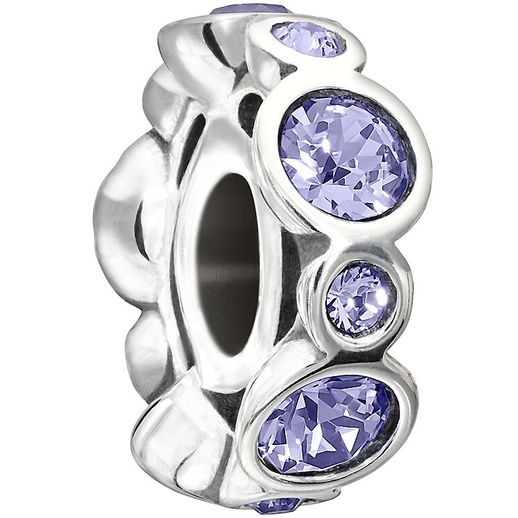 Chamilia sterling silver crystal June birthstone bead - Product number 1479490