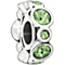 Chamilia sterling silver crystal August birthstone bead - Product number 1479512