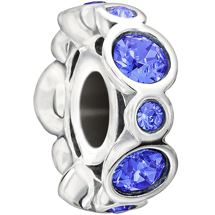 Chamilia sterling silver crystal September birthstone bead - Product number 1479520