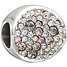 Chamilia sterling silver multi coloured crystal disc bead - Product number 1479601