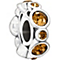Chamilia sterling silver crystal November birthstone bead - Product number 1479652