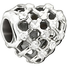 Chamilia sterling silver heart weave bead - Product number 1479679