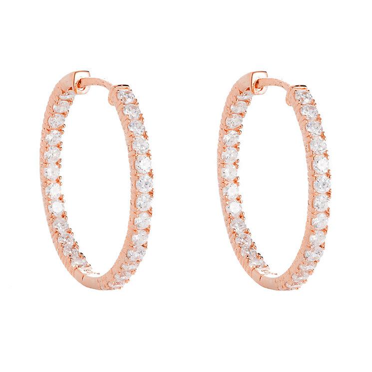 H Samuel Gold Hoop Earrings Jewelry FlatHeadlake3on3