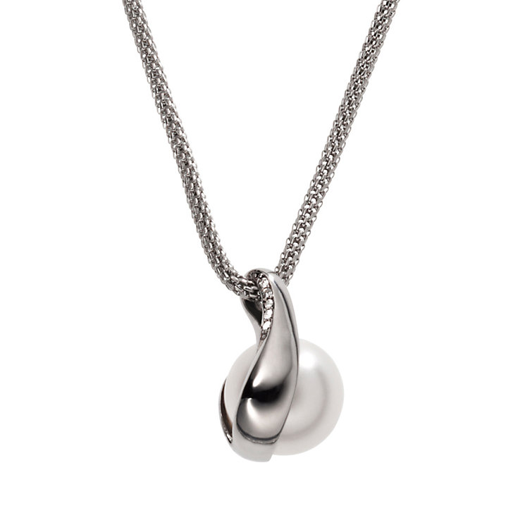 Skagen Seas Stainless Steel Pearl Necklace - Product number 1481061