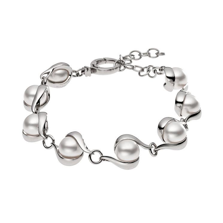 Skagen Seas Stainless Steel Pearl Bracelet - Product number 1481401