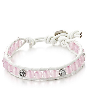 Shimla Luxury Crafted Rose Quartz & Fireballs Bracelet - Product number 1484249