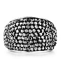 Shimla Hematite Set Stainless Steel Ring Size N - Product number 1484435