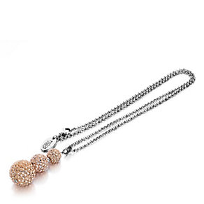 Shimla Triple Czech Crystal Rose Gold Tone Fireball Pendant - Product number 1484494