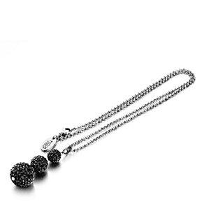 Shimla Triple Czech Crystal Black Fireball Pendant - Product number 1484532