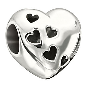 Chamilia Sterling Silver Heart Cut-Out Bead - Product number 1485563