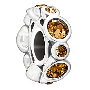 Chamilia Sterling Silver Crystal November Birthstone Bead - Product number 1485598