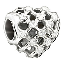 Chamilia Sterling Silver Heart Weave Bead - Product number 1485601