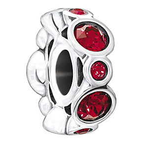 Chamilia Sterling Silver Crystal January Birthstone Bead - Product number 1485628