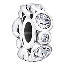 Chamilia Sterling Silver Crystal April Birthstone Bead - Product number 1485636