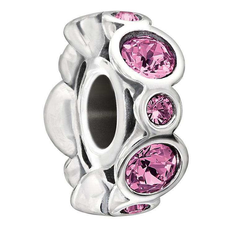 Chamilia Sterling Silver Crystal October Birthstone Bead - Product number 1485652