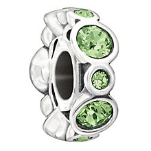 Chamilia Sterling Silver Crystal August Birthstone Bead - Product number 1485679