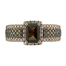 Le Vian 14ct Strawberry Gold 0.50ct diamond & quartz ring - Product number 1485873