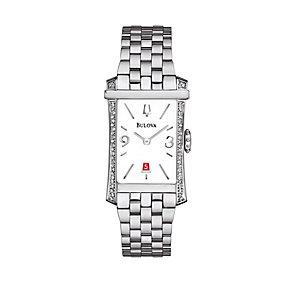 Bulova Diamond Gallery 52 Ladies' Stainless Steel Watch - Product number 1487825