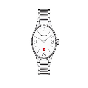 Bulova Diamond Gallery 72 Ladies' Oval Stainless Steel Watch - Product number 1487884
