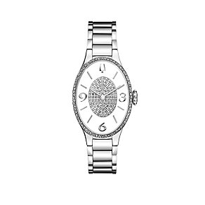 Bulova Diamond Gallery 164 Ladies' Stainless Steel Watch - Product number 1487892