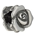 Charmed Memories Sterling Silver Rose Bead - Product number 1487914